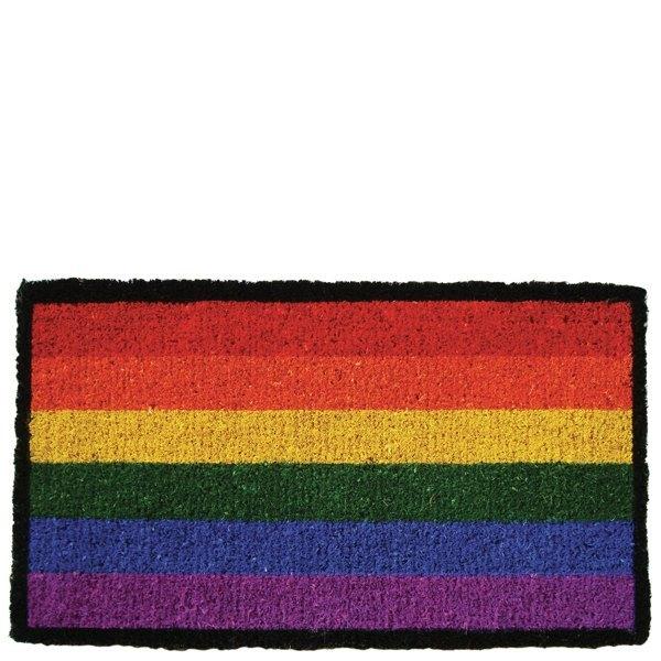 Felpudo bandera gay