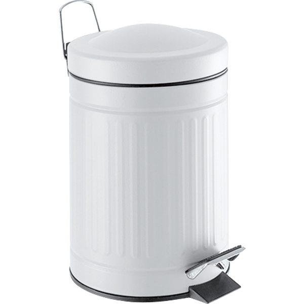 Cubo blanco retro