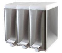 Cubo de basura de acero modular 3