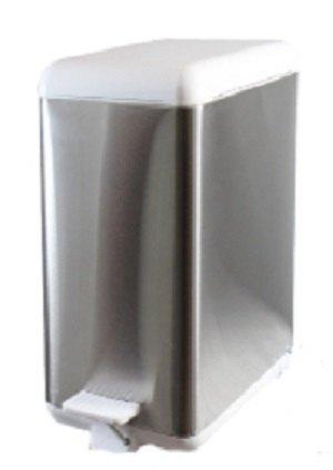 Cubo de basura de acero modular