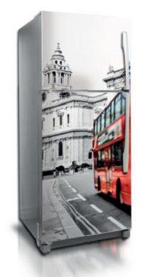 Vinilo adhesivo decorativo Bus
