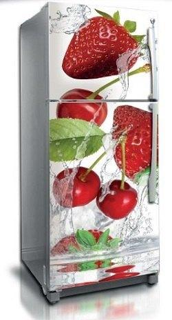 Vinilo adhesivo decorativo Fresas