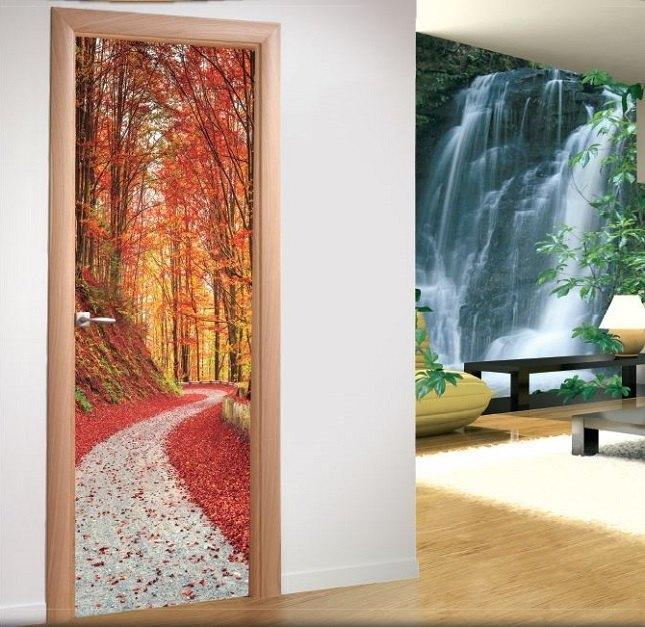 Vinilos decorativos adhesivos para puertas - Puertas con vinilo ...