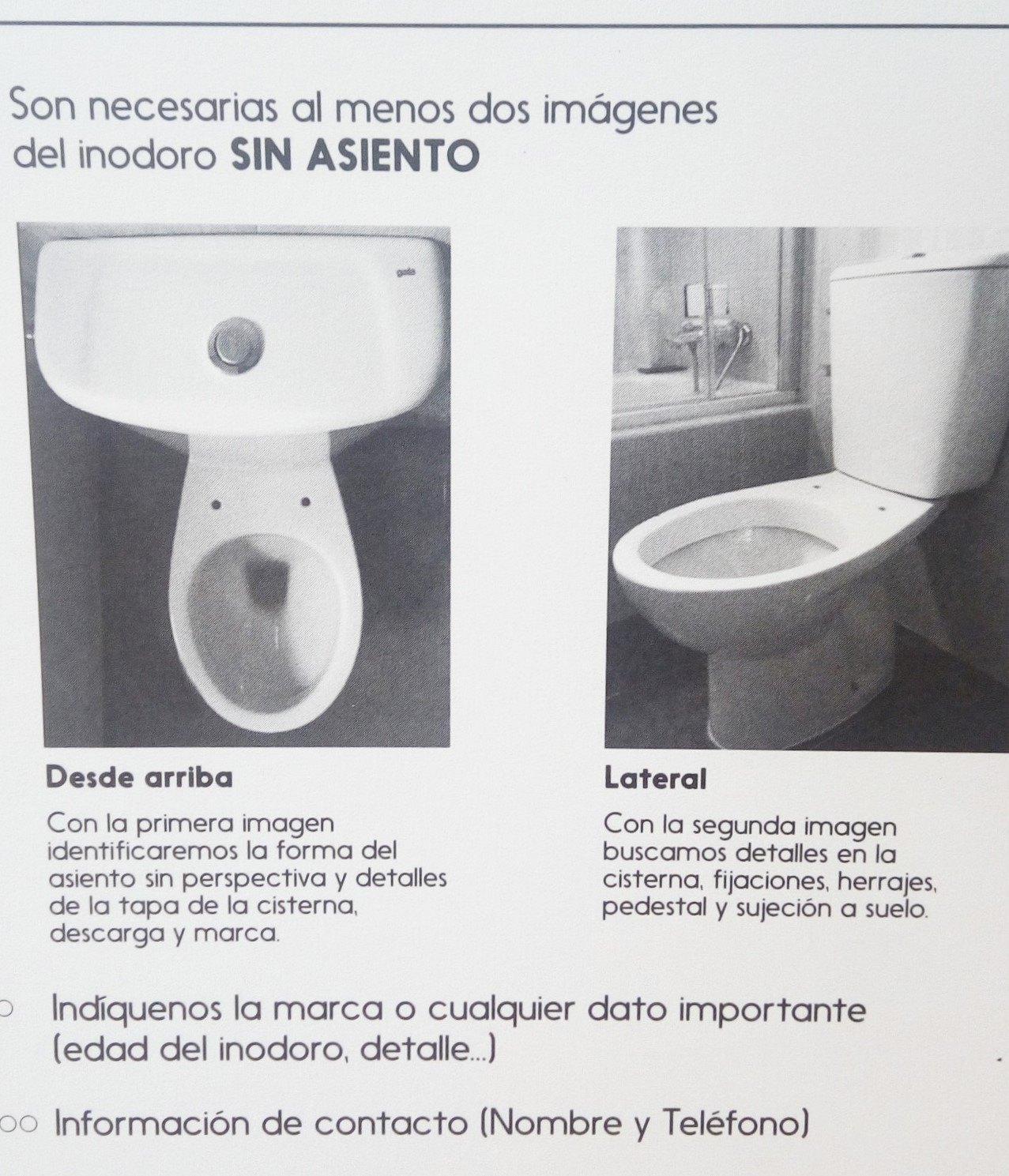 Identificación de modelos - masmasia tapas wc