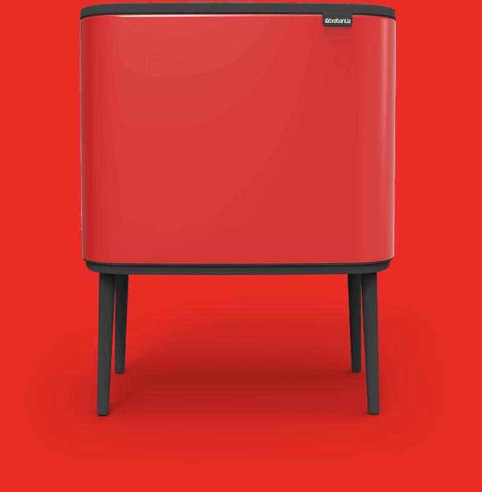 Bo Touch Bin red - mas masia reciclaje