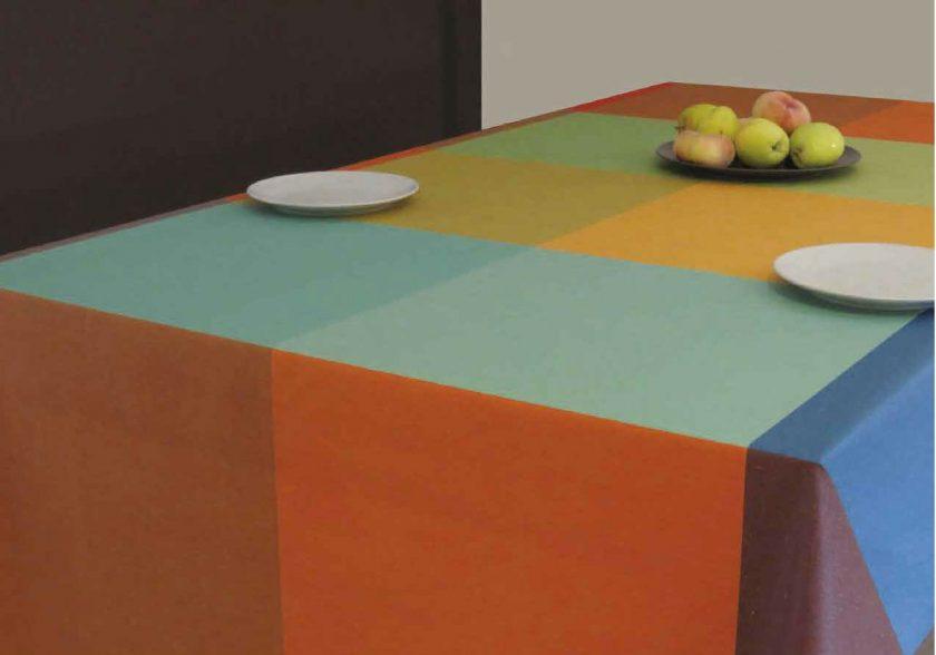 Mantel impermeable y anti-manchas Durero multicolor