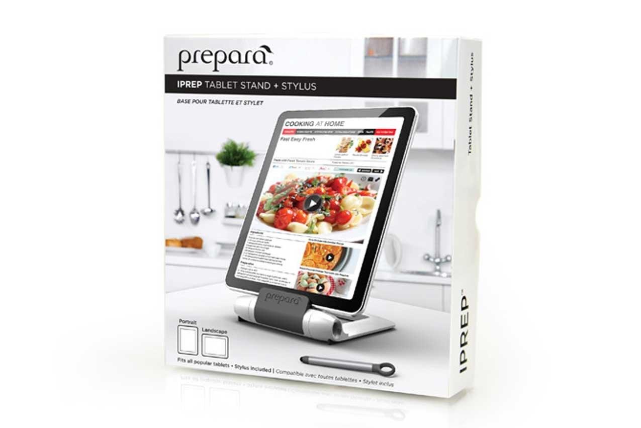 Iprep, soporte de tablets para cocina