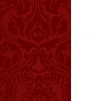 Mantel antimanchas Visconti color cherry