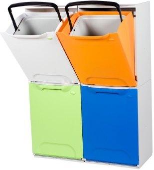 Cubos de reciclaje y de pedal