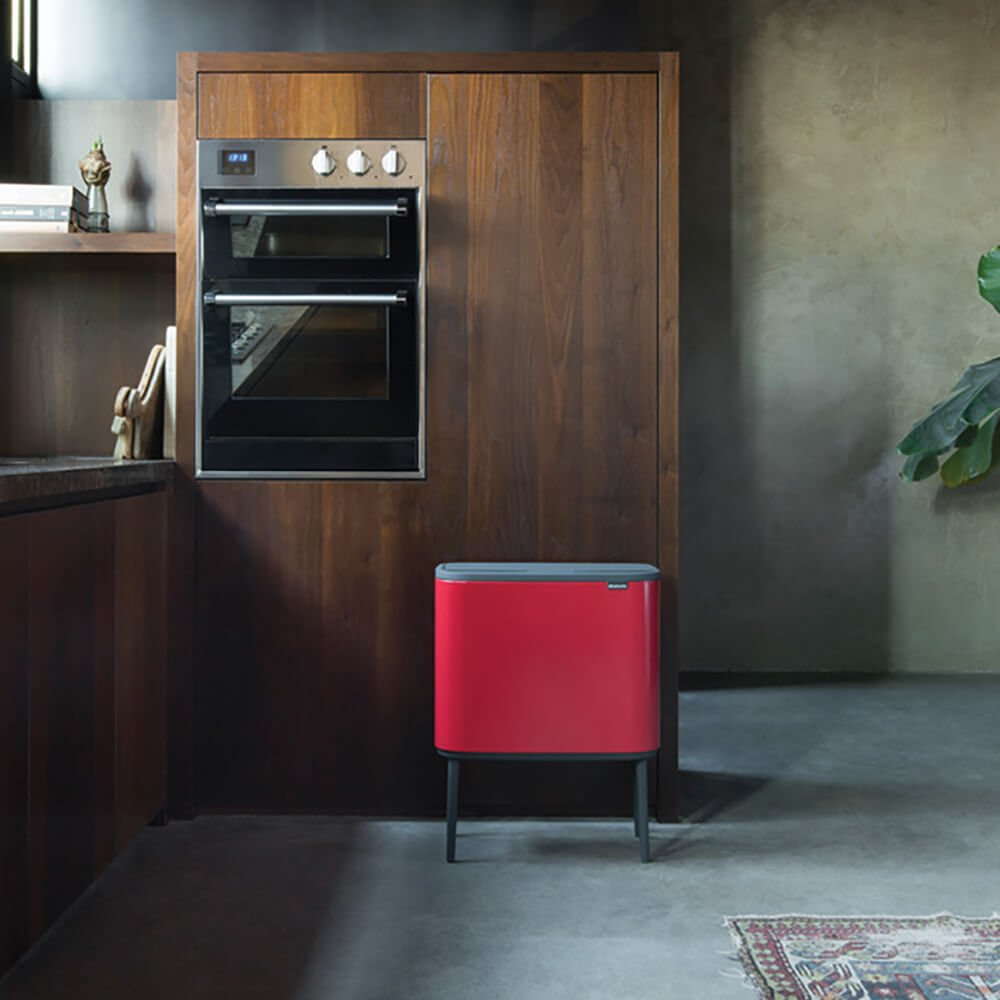 Bo Touch Bin en cocina - mas masia reciclaje