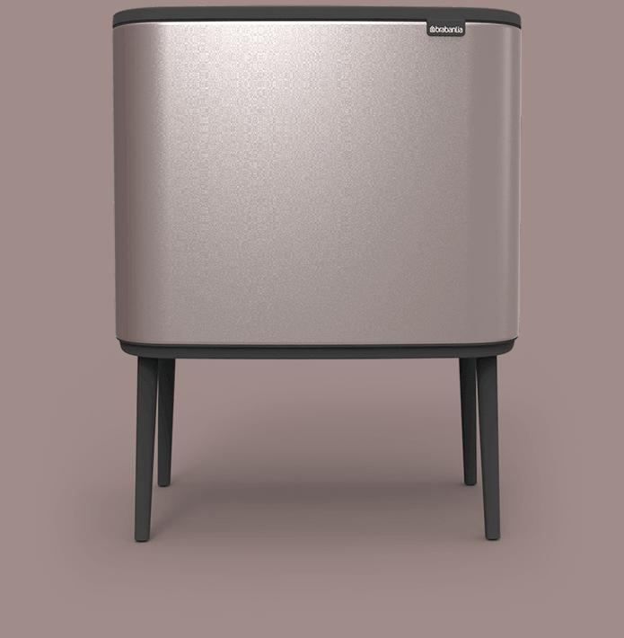 Bo Touch Bin platinum - mas masia reciclaje