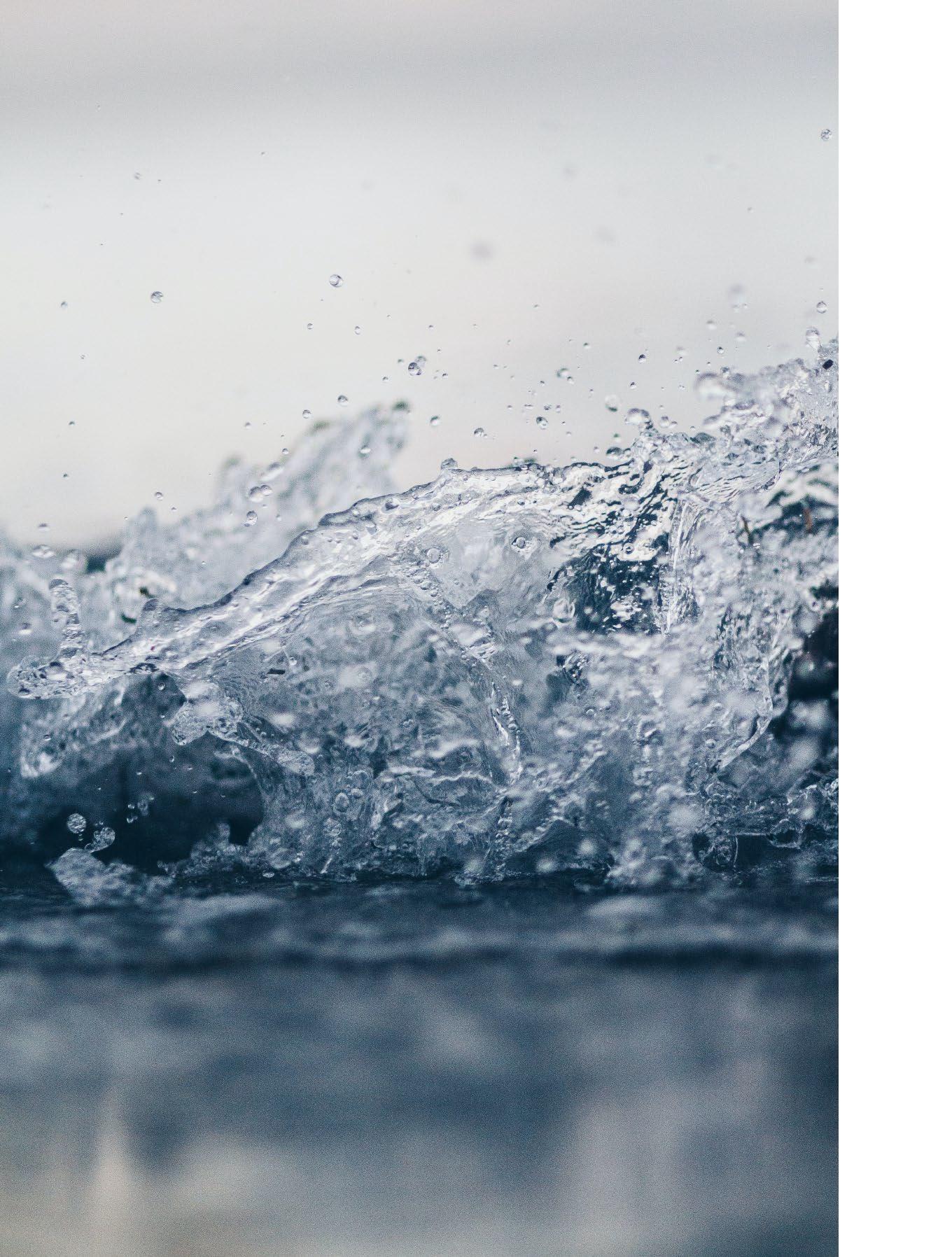 Manteles Ecológicos fabricados con conciencia medioambiental. Agua
