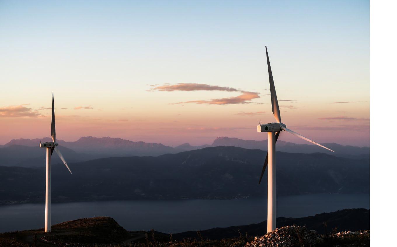 Manteles Ecológicos fabricados con conciencia medioambiental. Molinos de viento