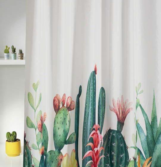 Cortina de ducha Kactus
