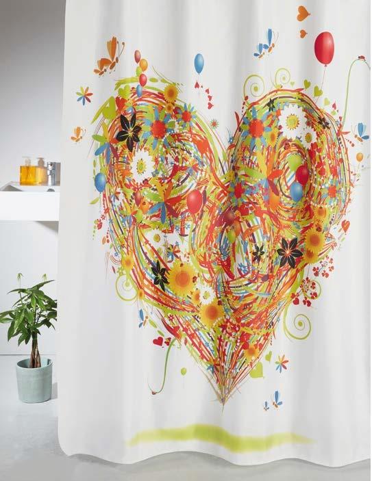 Cortinas de ducha Love