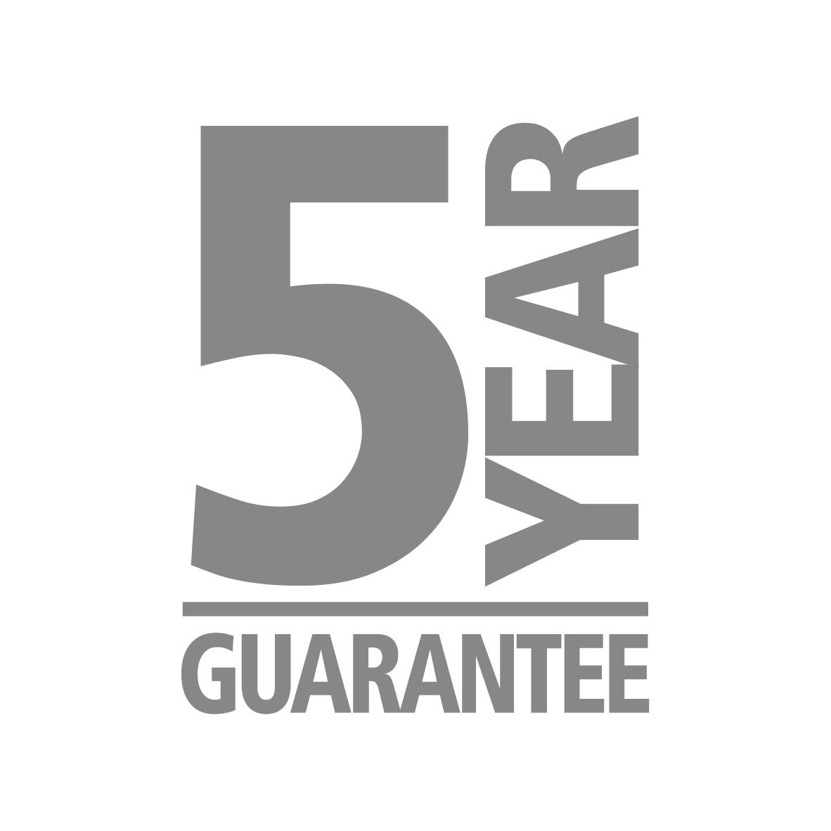 5 años garantía