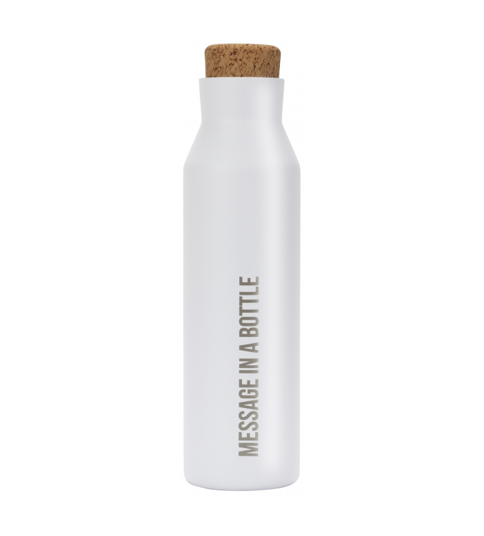 Botella térmica blanca