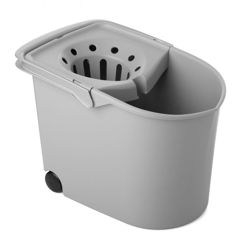 Cubo fregar milenium gris